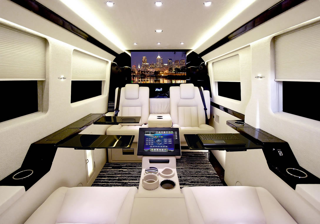 Becker Automotive Design Luxury Jetvan