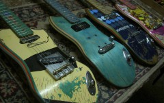 Skateboard-Guitars