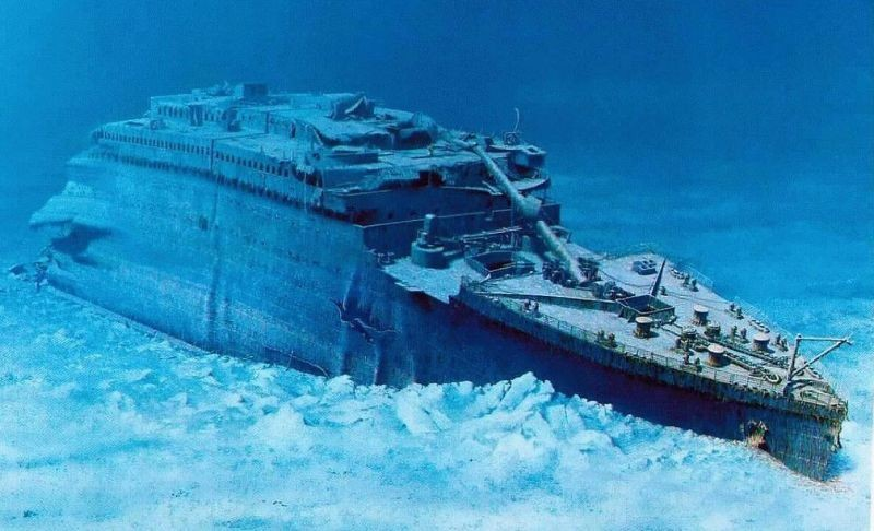real underwater titanic pictures. Imgs For \u003e Titanic Ship Underwater 2013 Real Pictures