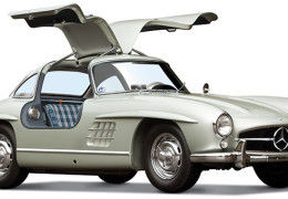1955 Mercedes-Benz 300SL Alloy Sold on auction for a Record $4.62 Million