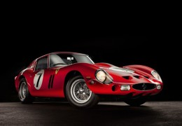 1962 Ferrari GTO:World's Most Expensive Car