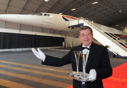 Valentine's Dinner on the Concorde anyone?