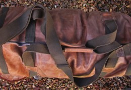 Leather Duffel by Dark Horse