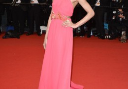 Gucci dressed Freida Pinto at the 66th Annual Cannes International Film Festival