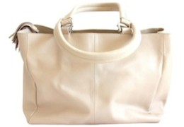 Jinger Jack- Lilly, Classic Leather Tote
