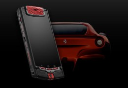 Limited Edition Vertu Ti Ferrari Smart Phone