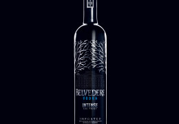 BELVEDERE VODKA INTENSE: The Finest Quality Vodka Rated 100 Proof