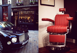 Bentley collaborates with Pankhurst, Londons top Men's grooming Salon