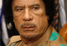 Does it pay to rob your own country blind Mr. Gaddafi?
