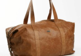 Thandana-Masai Leather Duffel/Carrier Bag