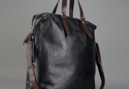 Leather Shopper Bag by Dries Van Noten