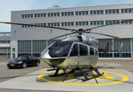 Mercedes Benz Helicopter Unveiled
