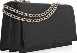 Luxlife Friday Fashion Session:Victoria Beckham Hexagonal Chain Crocodile Bag